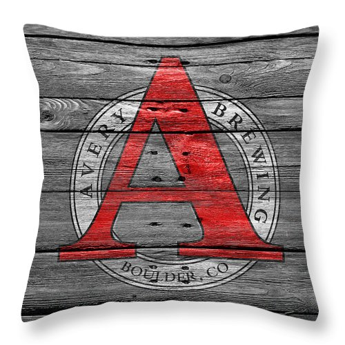 Avery Brewing Throw Pillow featuring the photograph Avery Brewing by Joe Hamilton