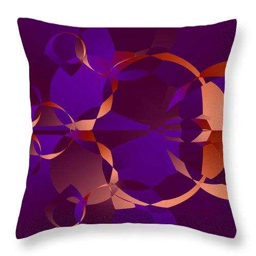 Fractal Throw Pillow featuring the digital art Aw Geeze by Brian Haythorn