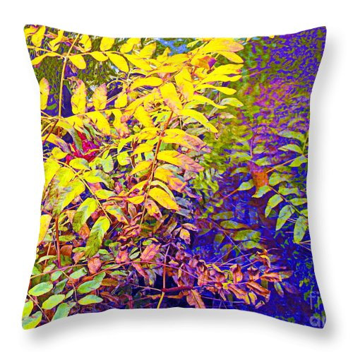 Hints Of Heaven Theme Throw Pillow featuring the photograph Awaken My Vision by Sybil Staples