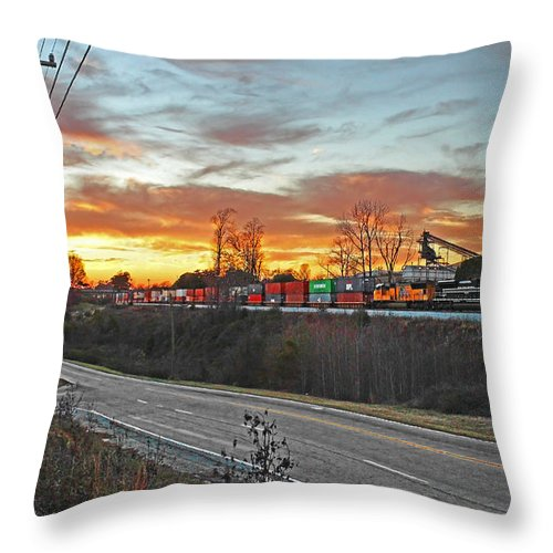 Ns Throw Pillow featuring the photograph Away From The Sun by Will Jordan