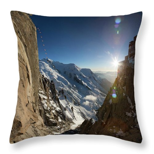 Wingsuit For Sale >> Base Wingsuit Flying In The Alps Throw Pillow