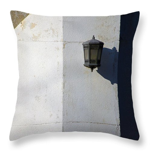 Wall Throw Pillow featuring the photograph Basic by Karol Livote