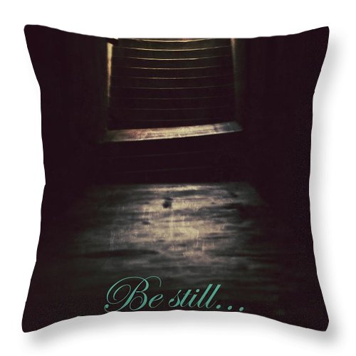 Be Still Throw Pillow featuring the photograph Be Still by The Art With A Heart By Charlotte Phillips