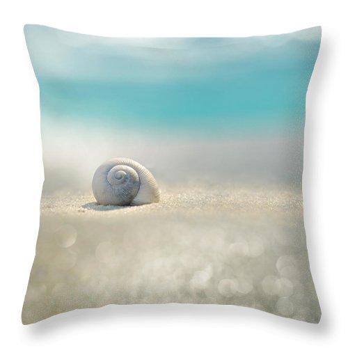 Beach Throw Pillow featuring the photograph Beach House by Laura Fasulo