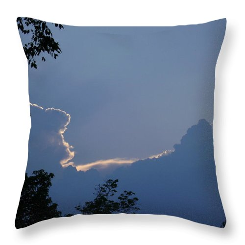 Throw Pillow featuring the photograph Beauty In The Sky by R A W M