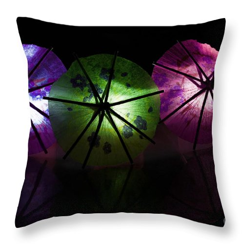 Beauty Of Light Throw Pillow featuring the photograph Beauty Of Light by Inspired Nature Photography Fine Art Photography