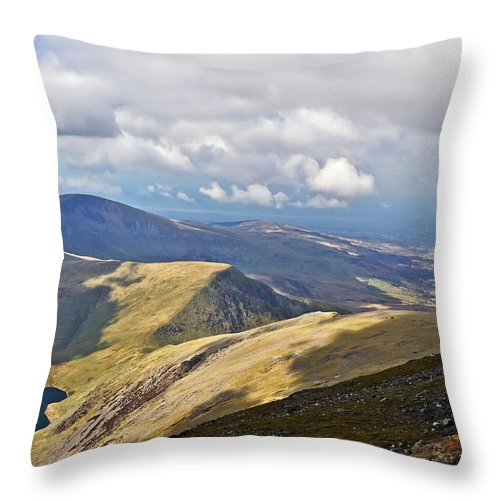Travel Throw Pillow featuring the photograph Beauty Of Wales by Elvis Vaughn