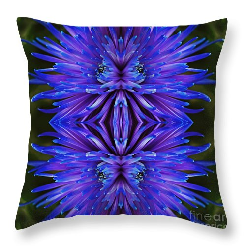 Beauty Unfolds Throw Pillow featuring the photograph Beauty Unfolds by Inspired Nature Photography Fine Art Photography