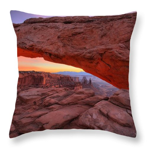 Throw Pillow featuring the photograph Before The Sun by Adam Jewell