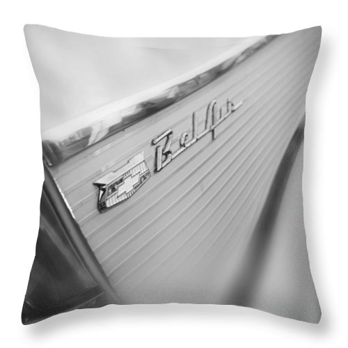 Car Throw Pillow featuring the photograph Bel Air Beauty by Beverly Stapleton
