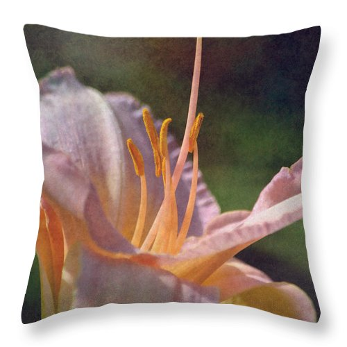 Flower Throw Pillow featuring the photograph Bellissima by Deena Stoddard