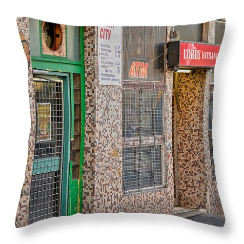 Vancouver Throw Pillow featuring the photograph Best In Town by The Artist Project