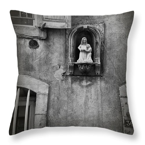 Icon Throw Pillow featuring the photograph Blessings by Diana Haronis