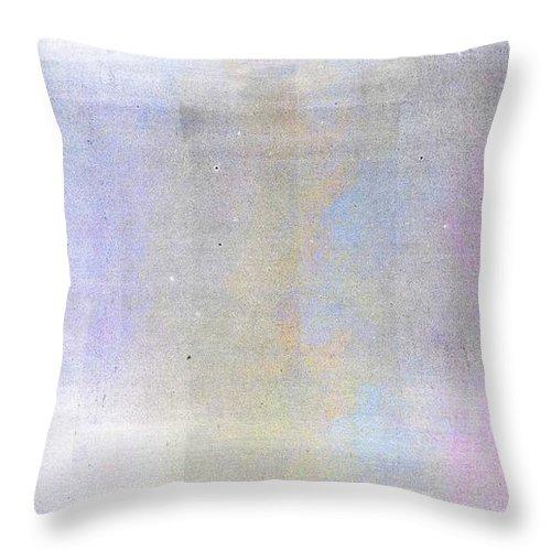 Brett Throw Pillow featuring the digital art Bliss by Brett Pfister