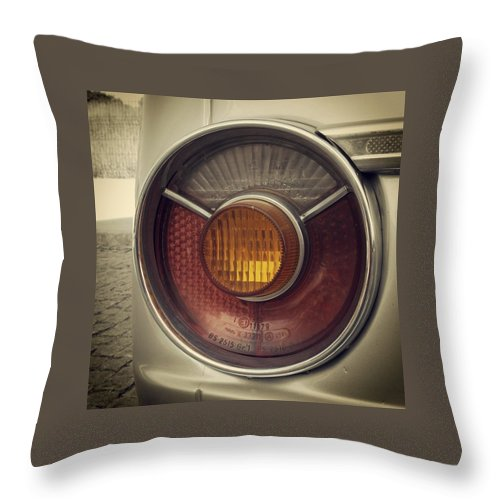Bmw Throw Pillow featuring the photograph Bmw 2002 by Goncalo Carreira