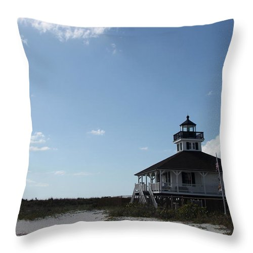 Boca Grande Throw Pillow featuring the photograph Boca Grande At Twiglight by Christiane Schulze Art And Photography