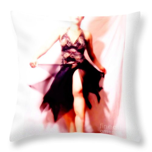 Color Throw Pillow featuring the photograph Botanic by Jessica Shelton
