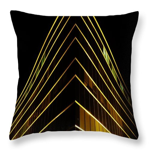 Architecture Throw Pillow featuring the photograph Bright Angle by Greg Kear