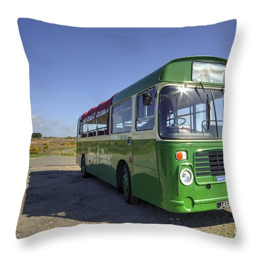 Bristol Throw Pillow featuring the photograph Bristol Lh by Rob Hawkins