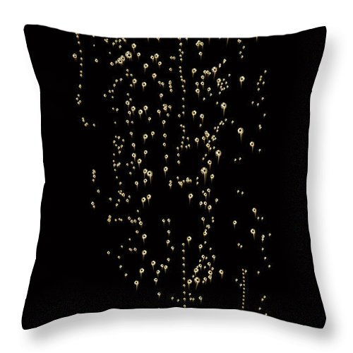 Alcohol Throw Pillow featuring the photograph Bubble Champagne by Jamesachard