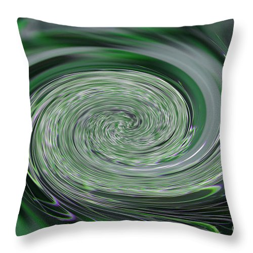 Bud Throw Pillow featuring the photograph Bud Twirl by Tina M Wenger