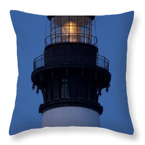 Bodie Throw Pillow featuring the photograph Burning The Midnight Oil by Kelvin Booker