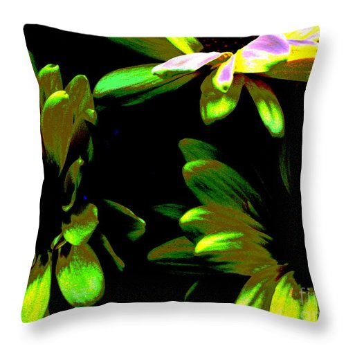 Art For The Wall...patzer Photography Throw Pillow featuring the photograph Burst by Greg Patzer