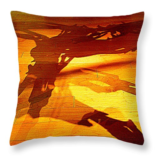 Shadow Throw Pillow featuring the photograph Butterfield Shadow by Randall Weidner