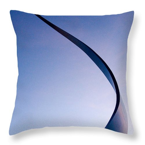 Artwork Throw Pillow featuring the photograph By The Moon by Don Johnson