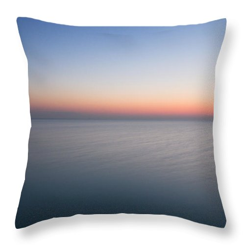 Early Throw Pillow featuring the photograph Calm Before The Dawn by Kevin Eatinger