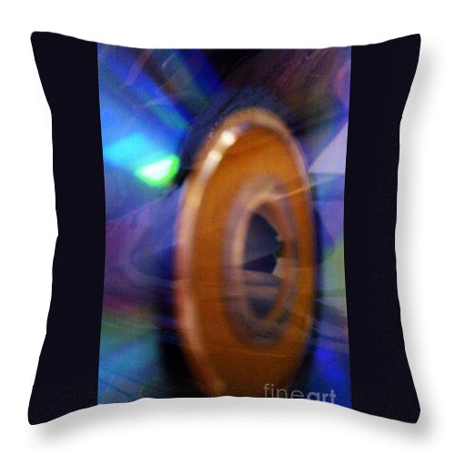 Light Throw Pillow featuring the photograph Can You Tell What It Is Yet? by Martin Howard