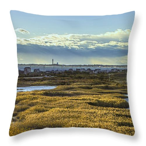 Usa Throw Pillow featuring the photograph Cape Cod National Seashore by Kate Hannon