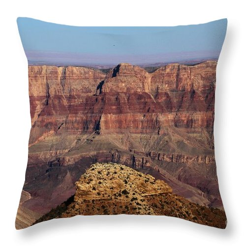 Cape Final Throw Pillow featuring the photograph Cape Final Walls by Adam Jewell