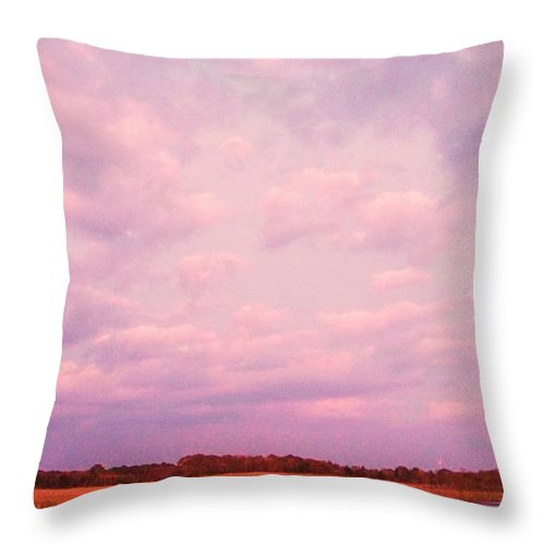 Cape May Throw Pillow featuring the painting Cape May Point by Eric Schiabor