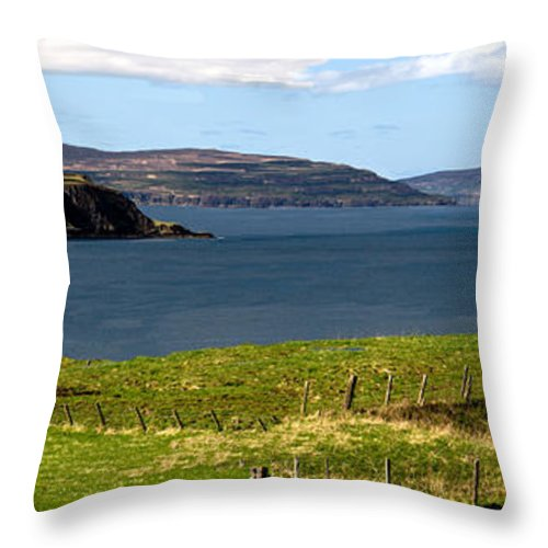 Captain Throw Pillow featuring the photograph Captain Frasers Folly Tower by Paul Cannon