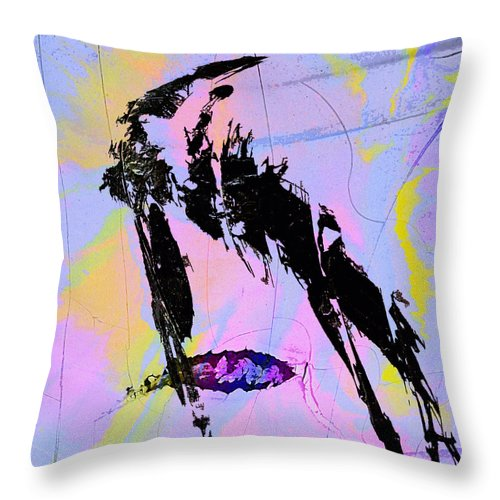Capture Ratio Throw Pillow featuring the mixed media Capture Ratio by Dominic Piperata