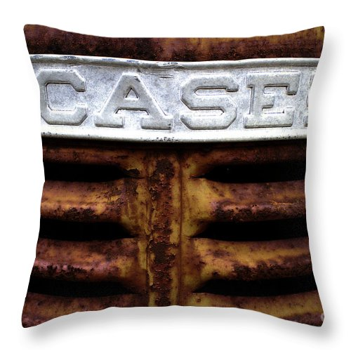 Case Throw Pillow featuring the photograph Case by Gary Richards