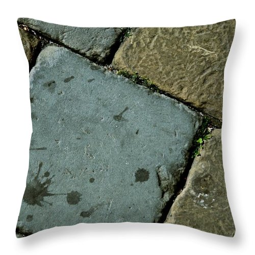 Floor Throw Pillow featuring the photograph Castle Floor by Eric Tressler
