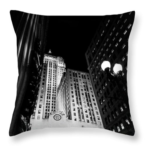 Throw Pillow featuring the photograph Cbot by Sue Conwell