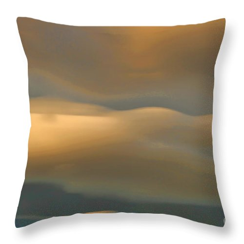 Colorado Clouds Throw Pillow featuring the photograph CC2 by Jon Burch Photography