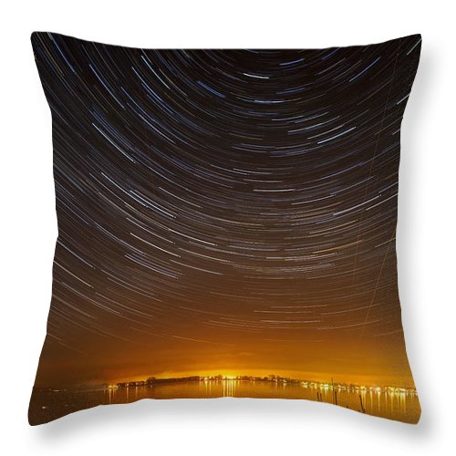 Iznang Throw Pillow featuring the photograph Center Of The Universe by Holger Spiering