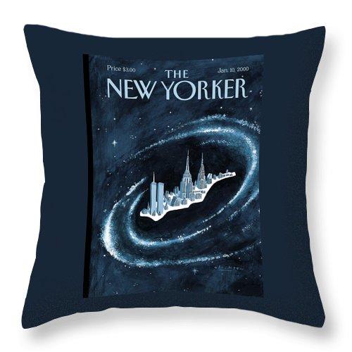 Center Of The Universe Throw Pillow