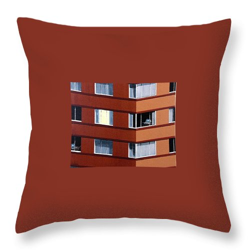 Urban Throw Pillow featuring the painting Chatrooms by Tony Gunning