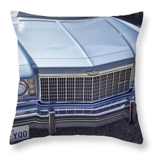 Throw Pillow featuring the photograph Chevy Caprice by Cathy Anderson