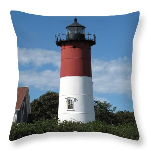 Nauset Throw Pillow featuring the photograph Chips Anyone by Barbara McDevitt