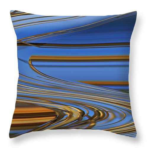Chocolate Throw Pillow featuring the digital art Chocolate by Carol Lynch