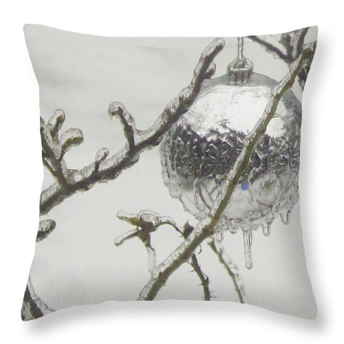 Christmas Throw Pillow featuring the photograph Christmas 2013 by Ian MacDonald