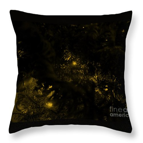 Photography Throw Pillow featuring the photograph Christmas Tree Series 2 by Serena Ballard