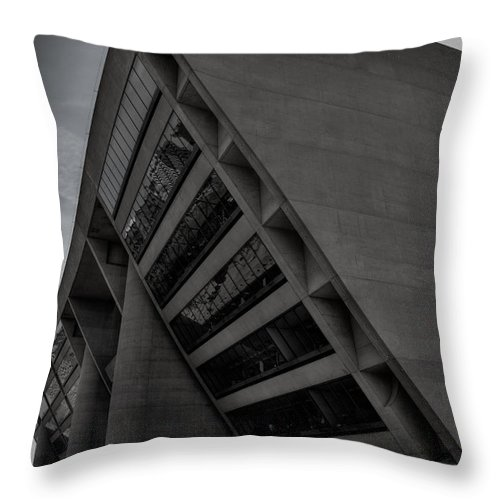 City Hall Throw Pillow featuring the photograph City Hall by Mark Alder