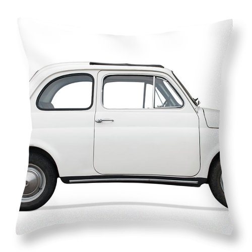 1950-1959 Throw Pillow featuring the photograph Classic Car by Lalocracio